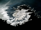 dragon, silver, blue, graphic design, art, moody art, cloud dragon, wise dragon, relaxing, photo manipulation, photoshop