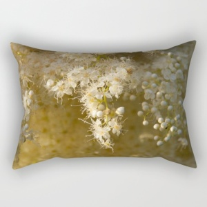 white-dainty-flowers-rectangular-pillows