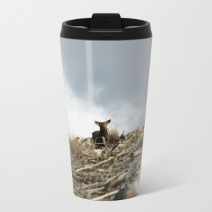 deer-amidst-a-destroyed-forest-metal-travel-mugs