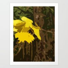 Bee on a Daffodil: http://bit.ly/2mNs65V