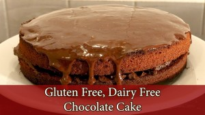 Gluten Free, Egg Free, Dairy Free Chocolate Cake